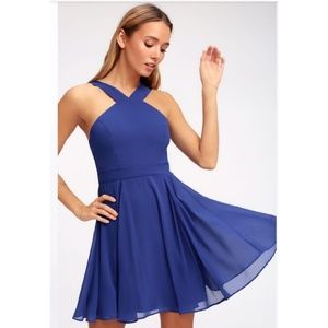 Lulu's Forevermore skater dress